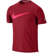 Nike Men's Practice Short Sleeve Tennis Shirt