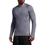 Nike Men's Pro Hyperwarm Quarter Zip Long Sleeve Shirt