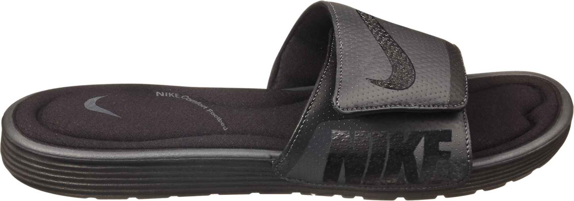 anthracite solarsoft is mens dick comforter slides footbed goods men sporting nike p black comfort s