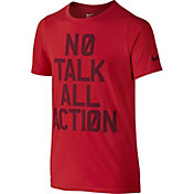 Nike Boys' No Talk Graphic T-Shirt