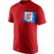 Nike Men's USA Crest Red T-Shirt
