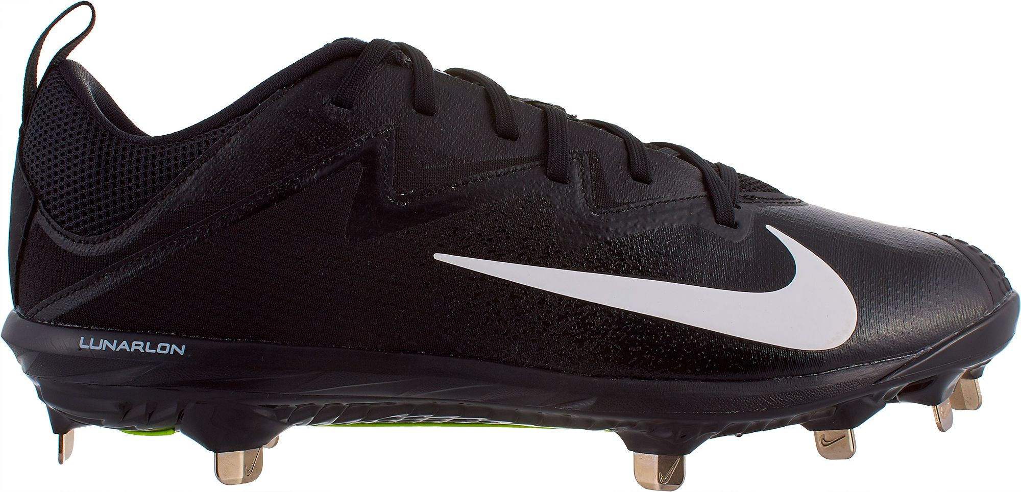 black and grey nike shoes purple metal baseball cleats