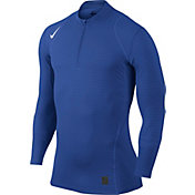 Nike Men's Pro Warm Dri-FIT Quarter Zip Long Sleeve Shirt