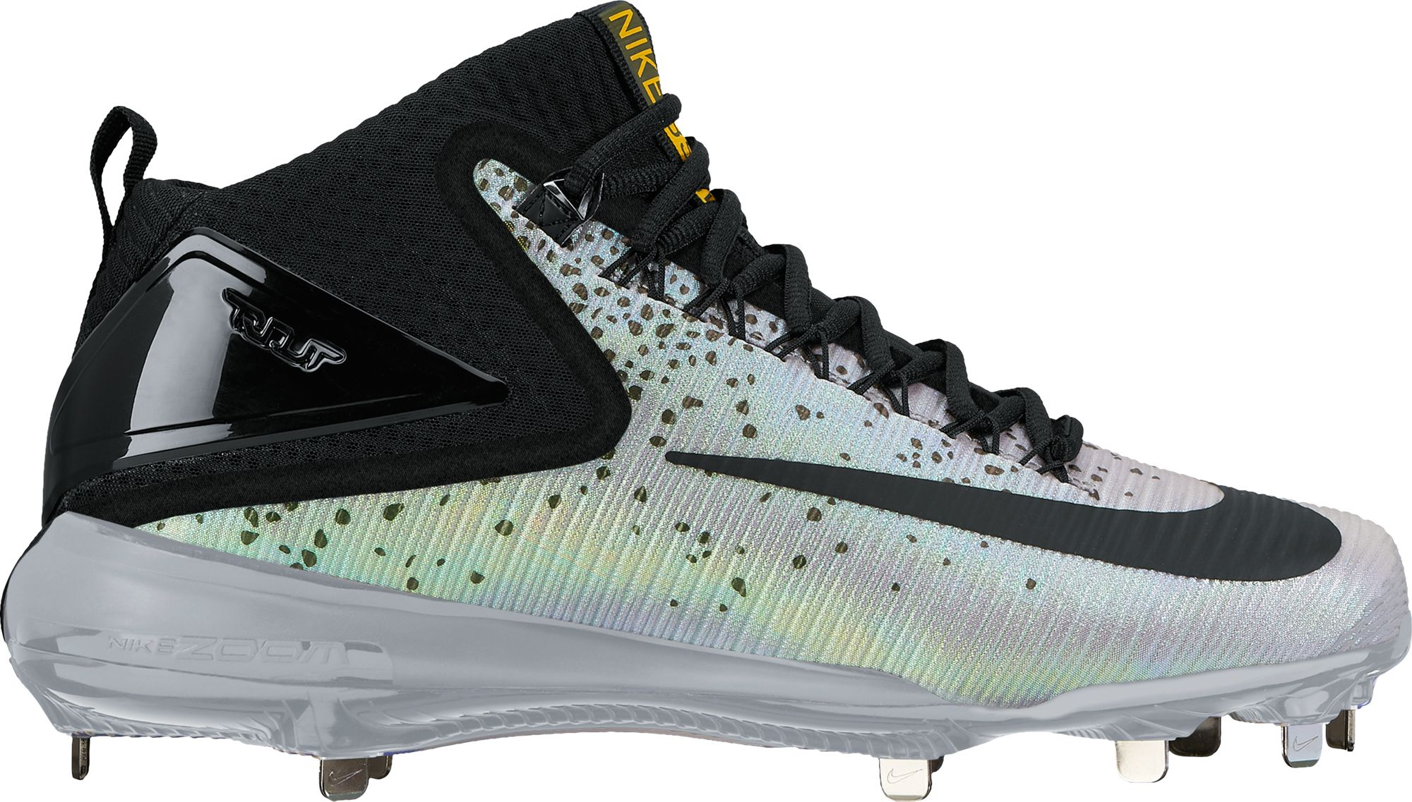 Product Image � Nike Men\u0027s Force Zoom Trout 3 Mid Metal Baseball Cleats
