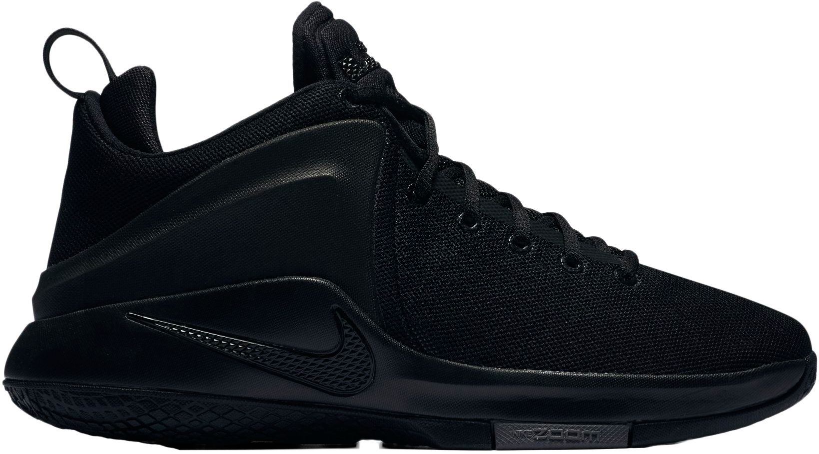 Product Image � Nike Men\u0027s Zoom Witness Basketball Shoes. Black/ ...