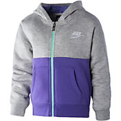 Nike Toddler Girls' Club Full Zip Fleece Jacket
