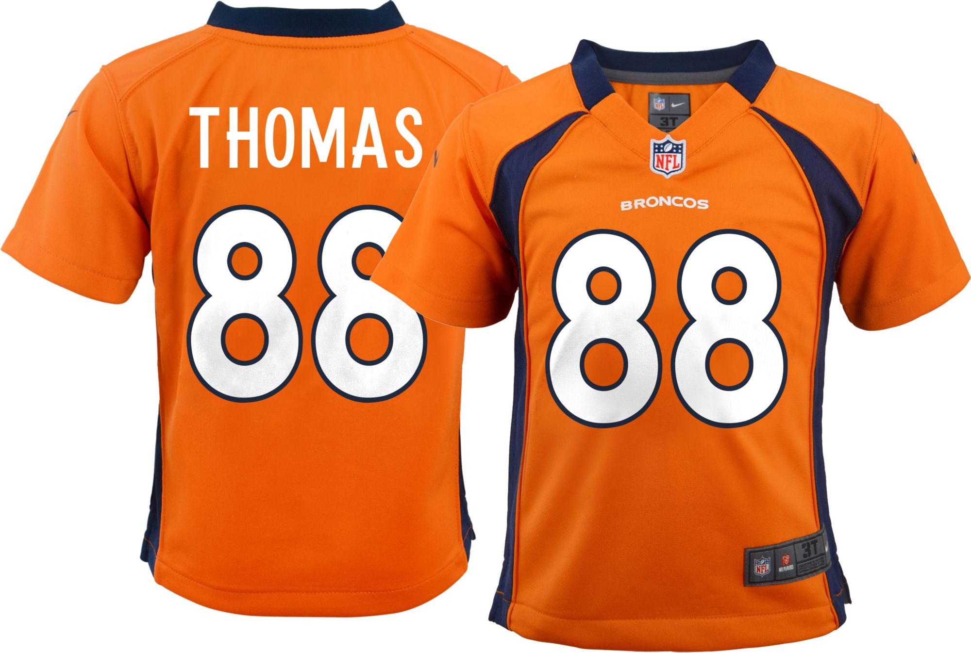 competitive price 22402 0cca0 nike denver broncos 88 demaryius thomas orange toddlers jersey
