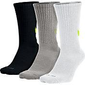 Nike Dri-FIT Cotton Swoosh HBR Crew Socks 3 Pack