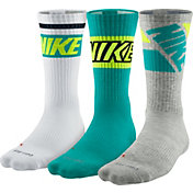 Nike Dri-FIT Fly Rise Crew Socks 3 Pack