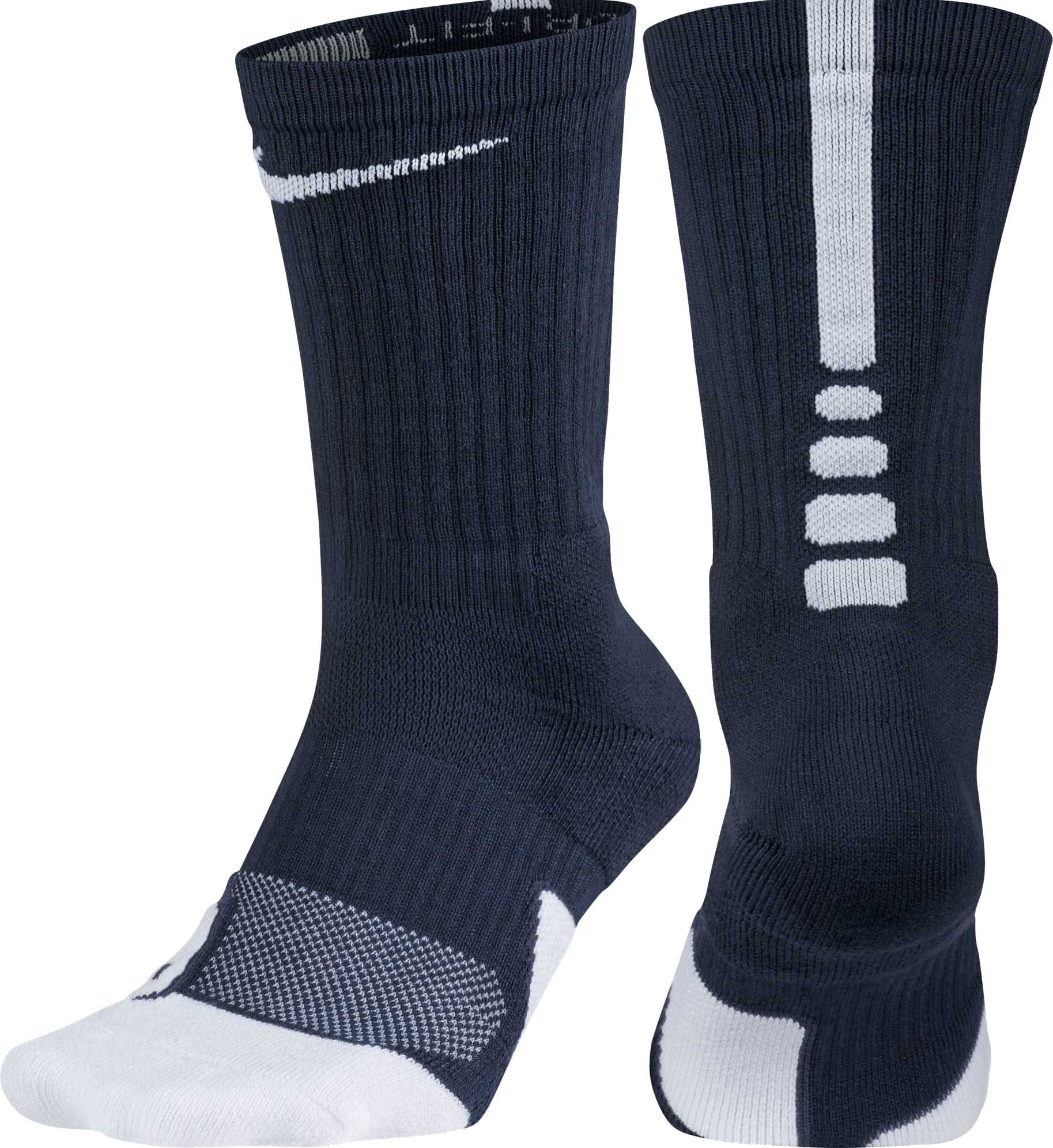 Nike De Baloncesto De Élite Calcetines De La Tripulación De Ropa De Cama En Blanco Y Negro X5pOnN