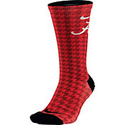 Nike Alabama Crimson Tide College Crew High Length Socks