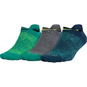 Nike Women's Dri-FIT Graphic No Show Tab Socks 3 Pack