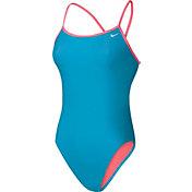 Nike Women's Core Solid Cross Back Swimsuit