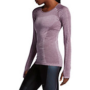 Nike Women's Dri-FIT Knit Long Sleeve Running Shirt