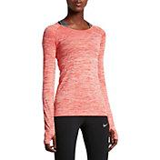 Nike Women's Dri-FIT Long Sleeve Knit Shirt