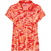 Nike Women's Victory Print Golf Polo