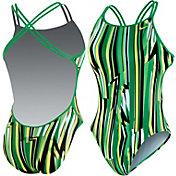 Nike Women's Dynamic Lines Spider Back Tank Swimsuit