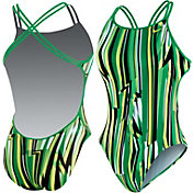 Nike Women's Dynamic Lines Spider Back Tank Swimsuit