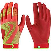 Nike Girls' Hyperdiamond Edge Batting Gloves