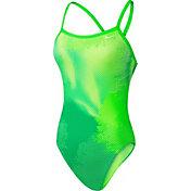 Nike Women's Haze Lingerie Cross Back Swimsuit