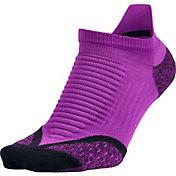 Nike Women's Elite Running Cushion No Show Tab Socks