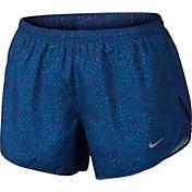 Nike Women's Bear Paw Printed Tempo Running Shorts