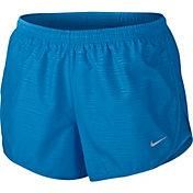 Nike Women's 3'' Tempo Modern Embossed Printed Running Shorts