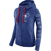 Nike Women's Toronto Blue Jays Vintage Royal Full-Zip Hoodie