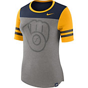 Nike Women's Milwaukee Brewers Modern Fan Shirt