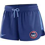 Nike Women's Chicago Cubs Dri-FIT Cooperstown Royal Performance Shorts