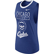 Nike Women's Chicago Cubs Dri-Blend Cooperstown Royal Muscle Tank Top