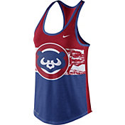 Nike Women's Chicago Cubs Dri-Blend Cooperstown Royal Tank Top