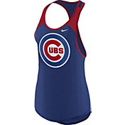 Nike Women's Chicago Cubs Dri-FIT Royal Wordmark Tank Top