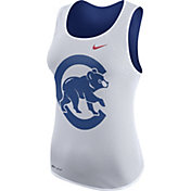 Nike Women's Chicago Cubs Dri-FIT White Out Mesh Sport Top