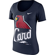Nike Women's St. Louis Cardinals Navy Scoop Neck T-Shirt