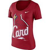 Nike Women's St. Louis Cardinals Red Scoop Neck T-Shirt