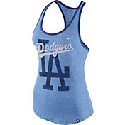 Nike Women's Los Angeles Dodgers Marled Light Blue Tank Top