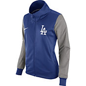 Nike Women's Los Angeles Dodgers Royal/Grey Full-Zip Track Jacket