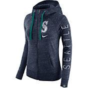 Nike Women's Seattle Mariners Vintage Navy Full-Zip Hoodie