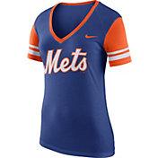 Nike Women's New York Mets Fan Royal V-Neck Shirt