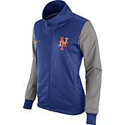 Nike Women's New York Mets Royal/Grey Full-Zip Track Jacket