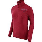 Nike Women's Los Angeles Angels Dri-FIT Red Element Half-Zip Jacket