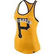 Nike Women's Pittsburgh Pirates Marled Gold Tank Top