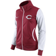 Nike Women's Cincinnati Reds Red/White Track Jacket
