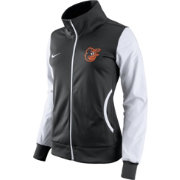 Nike Women's Baltimore Orioles Black/White Track Jacket