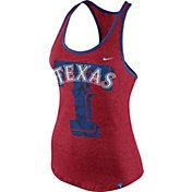 Nike Women's Texas Rangers Marled Red Tank Top