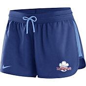 Nike Women's Texas Rangers Dri-FIT Cooperstown Royal Performance Shorts