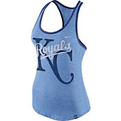 Nike Women's Kansas City Royals Marled Light Blue Tank Top
