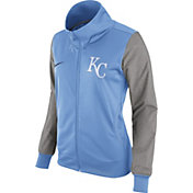 Nike Women's Kansas City Royals LIght Blue/Grey Full-Zip Track Jacket