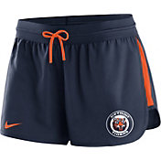 Nike Women's Detroit Tigers Dri-FIT Cooperstown Navy Performance Shorts
